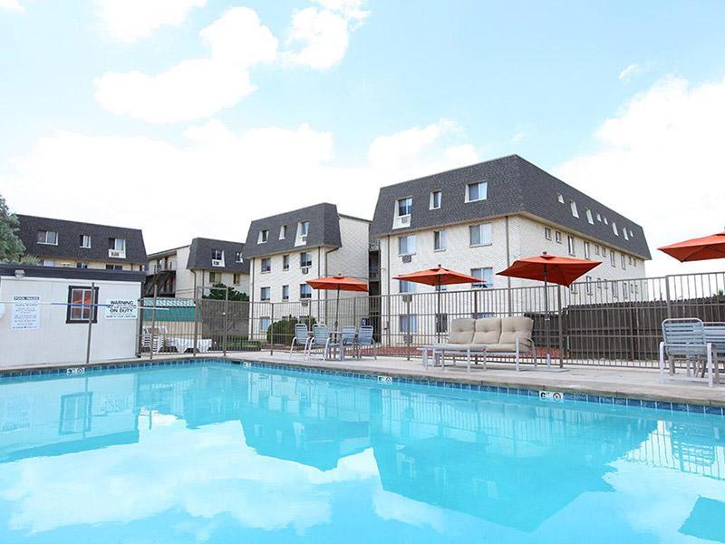 Pool | Bridge Square Apartments in Brighton, CO