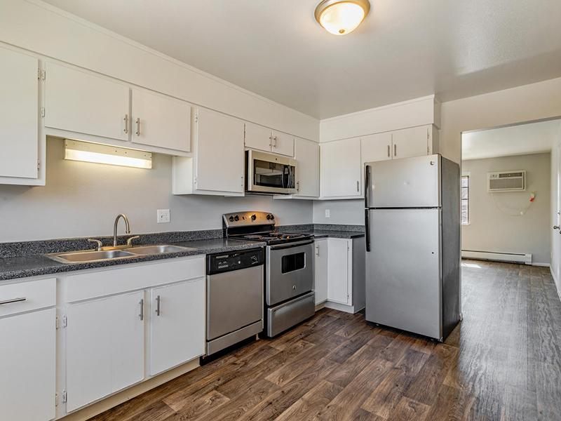 Fully Equipped Kitchen  | Bridge Square Apartments