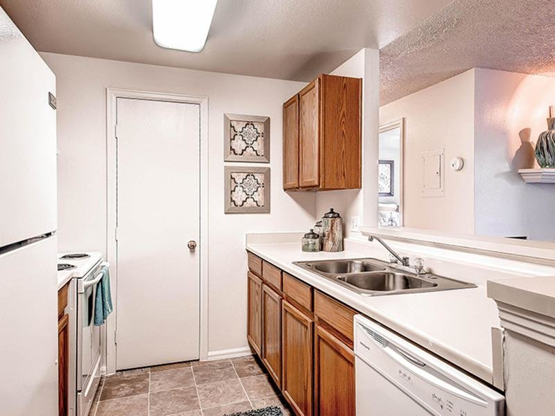 Kitchen | Ascend at Red Rocks Apartments in Lakewood, CO