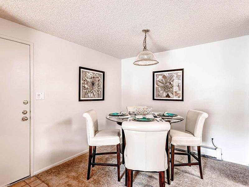 Dining Area | Ascend at Red Rocks Apartments