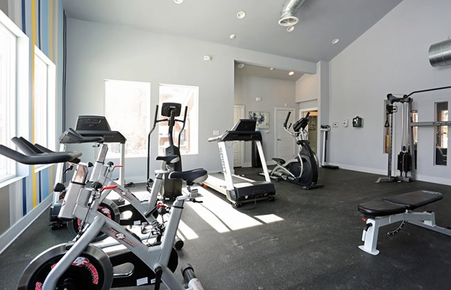 Fitness Center Ascend at Red Rocks Apartments in Lakewood, CO