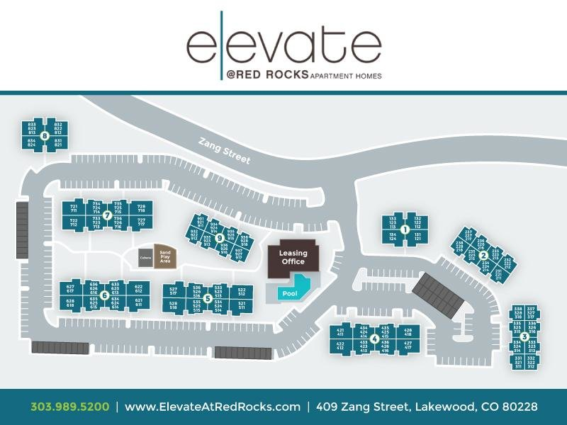 Map | Elevate at Red Rocks