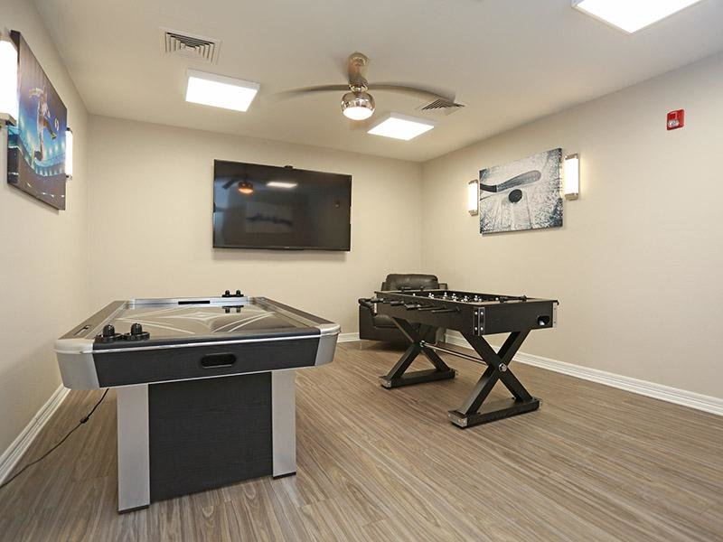 Game Room | Elevate at Red Rocks Apartments in Lakewood, CO