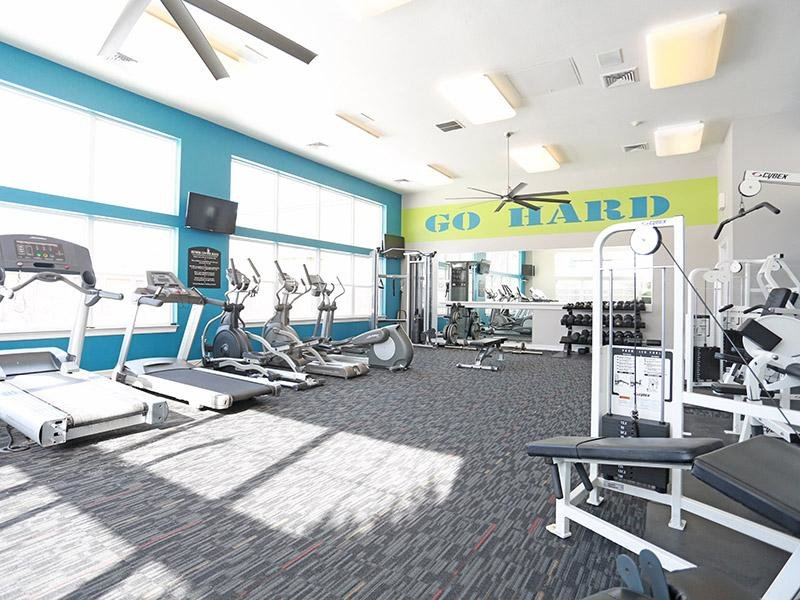 Fitness Center |Elevate at Red Rocks Apartments in Lakewood, CO