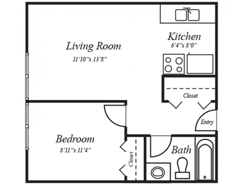 Floor Plans at Summer Grove Apartments