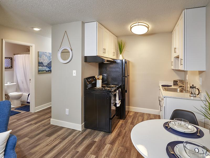 Apartment Kitchen | Park at Penrose in Colorado Springs, CO