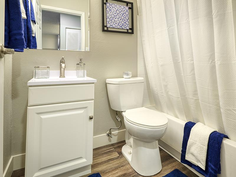 Apartment Bathroom | Park at Penrose in Colorado Springs, CO