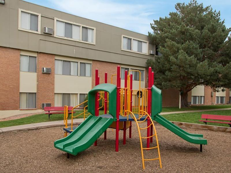 Outdoor Community Playground | Park at Penrose in Colorado Springs, CO