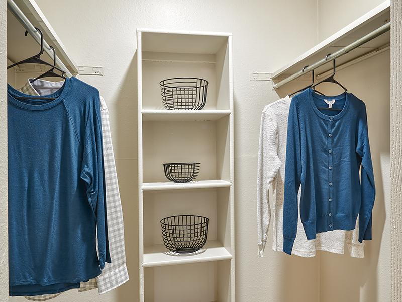 Park at Palmer Apartments | Walk-in Closets