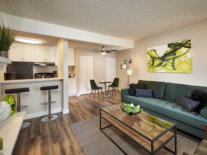 Park at Palmer Apartments: Living room Overview