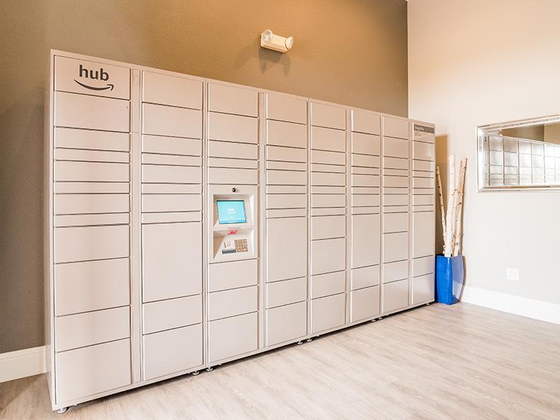 Package Lockers   Regatta Apartments