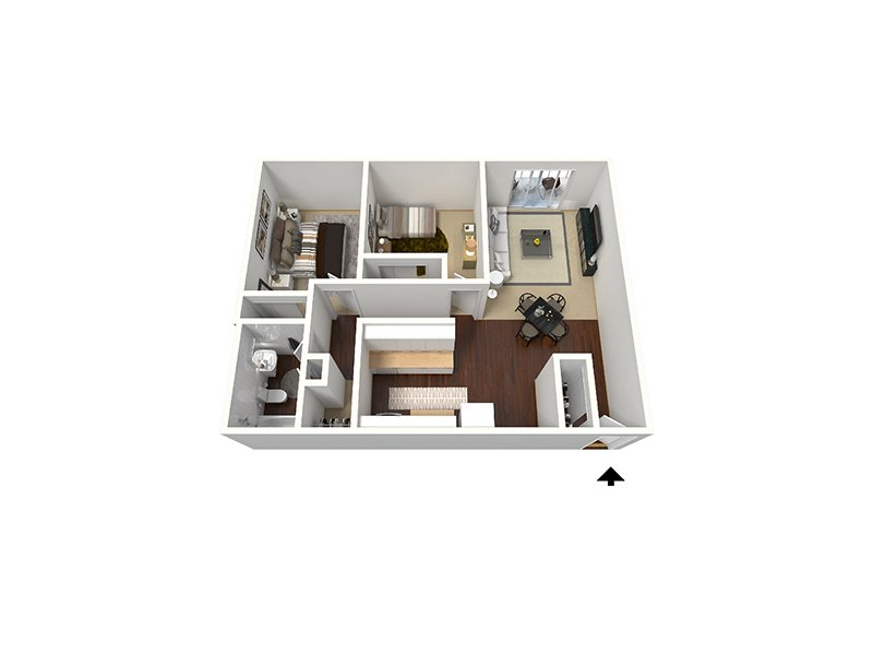 Floor Plans at Timber Lodge Apartments