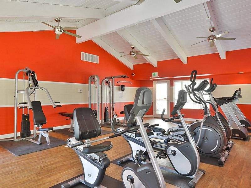Fitness Center | Timber Lodge Apartments