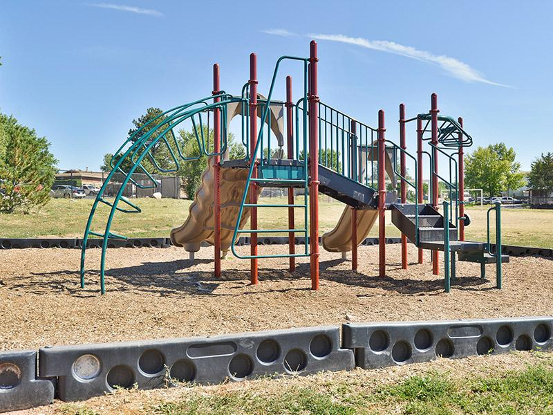 Outdoor Community Playground | Timber Lodge Apartments