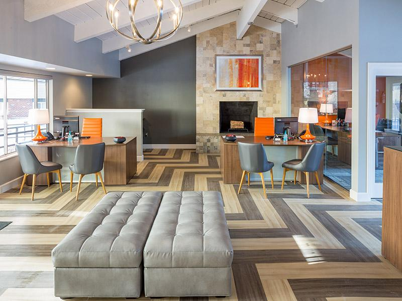 Main Clubhouse Interior | Timber Lodge Apartments