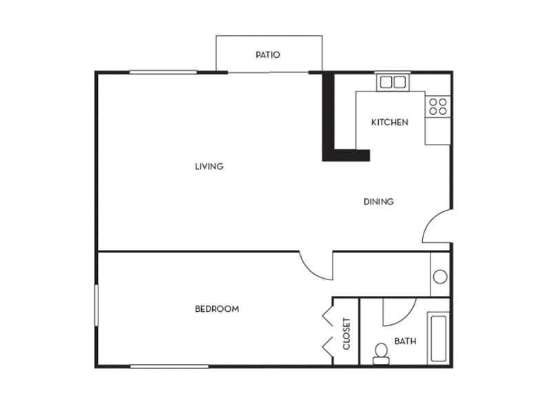 Floor Plans at The Cape Apartments