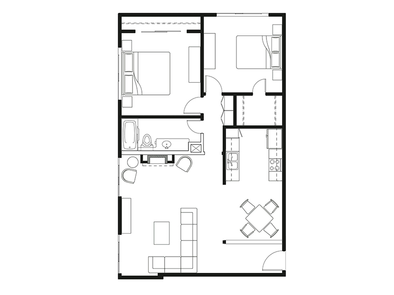 Floor Plans at Luxe 1801 Apartments