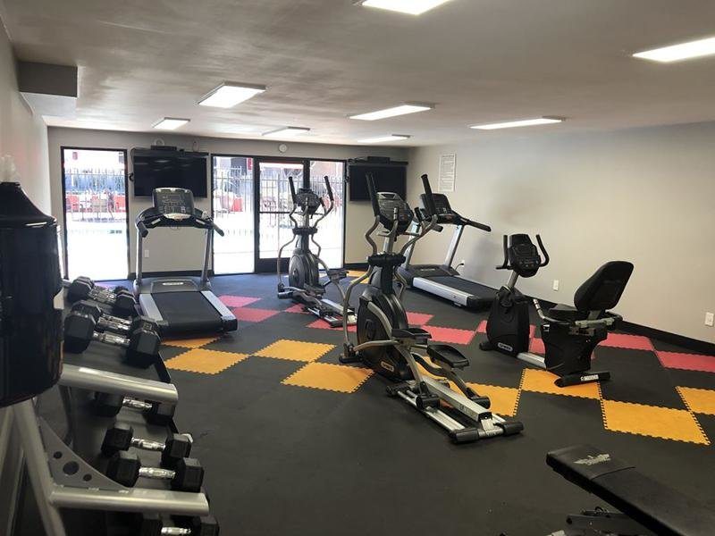 Gym | Luxe 1801 Apartments