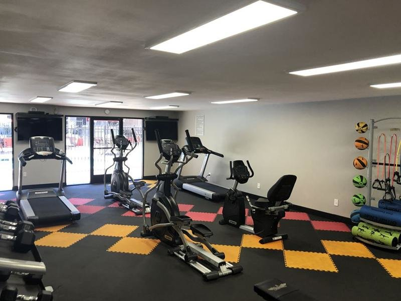 Fitness Center | Luxe 1801 Apartments