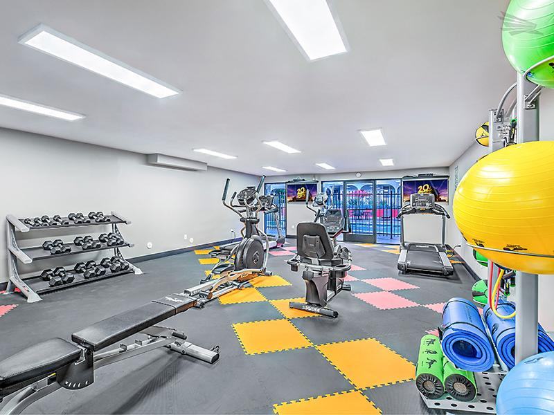 Fitness Center | Luxe 1801