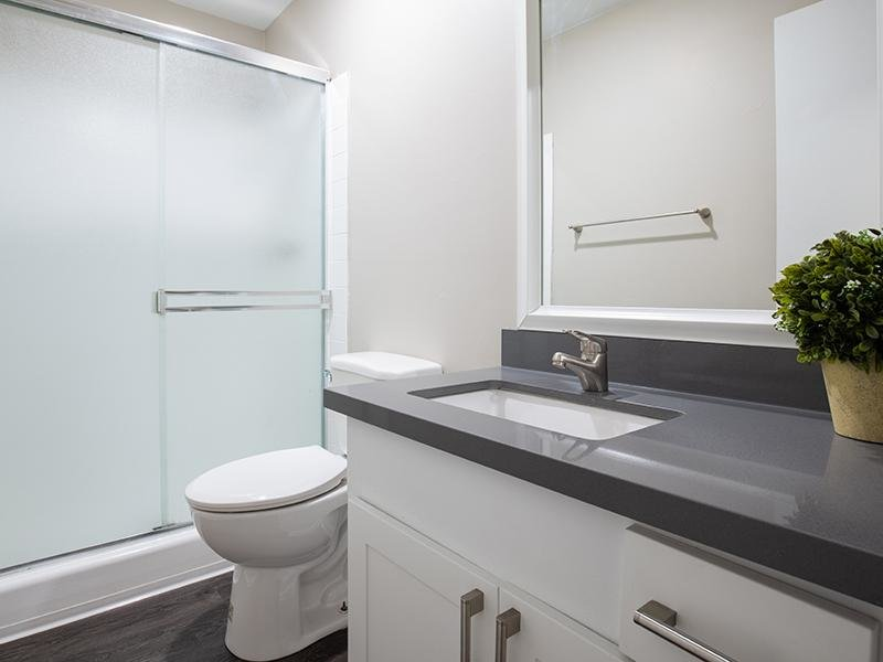 Bathroom | The Villas at Anaheim Apartments