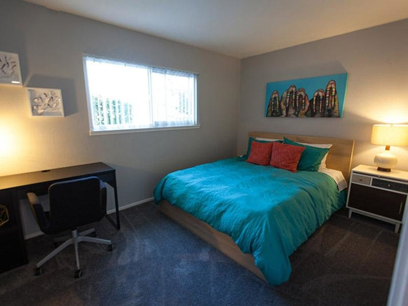 Apartment Bedroom | The Eleven Hundred Apartments in Sacramento CA