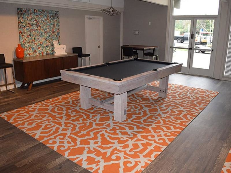 Community Clubhouse With Pool Table | The Eleven Hundred Apartments in Sacramento CA