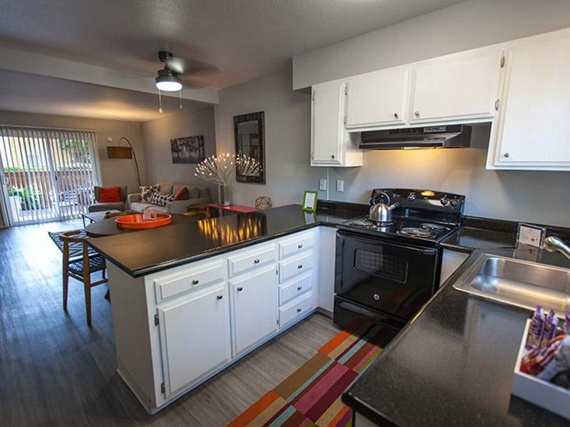 Apartment Kitchen | The Eleven Hundred Apartments in Sacramento CA