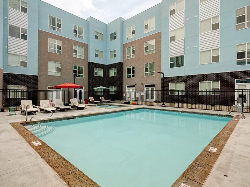 Swimming Pool - West Station Apartments in Salt Lake City, UT