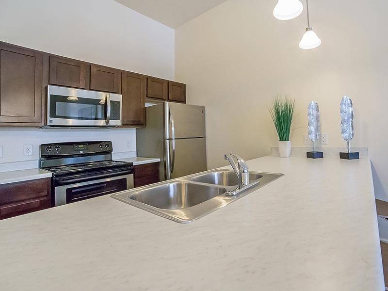 Kitchen - West Station Apartments in Salt Lake City, UT