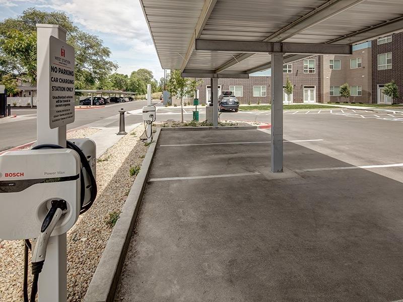 Parking - West Station Apartments in Salt Lake City, UT