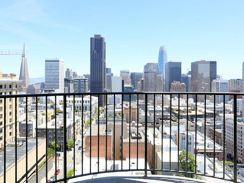 City View | The Pinnacle at Nob Hill Apartments