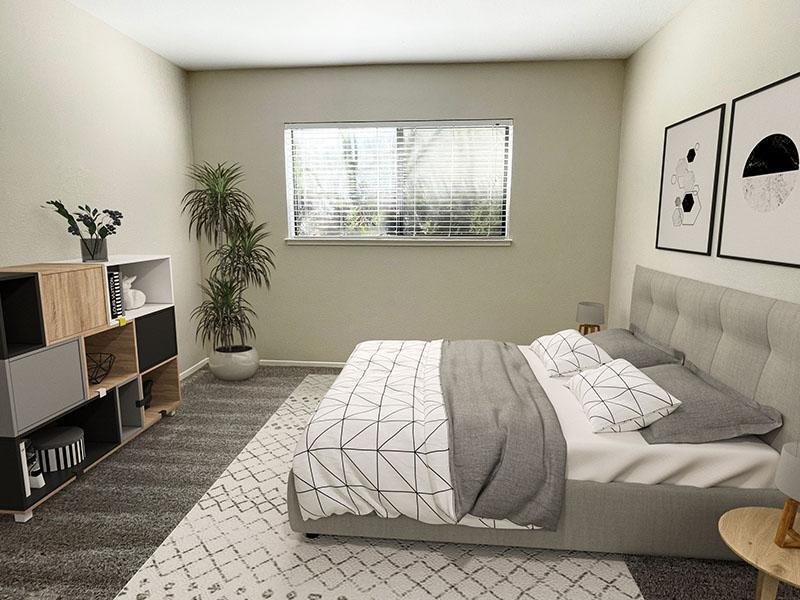 Bedroom | McInnis Park Apartments