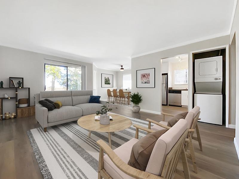 Model Living Room | McInnis Park