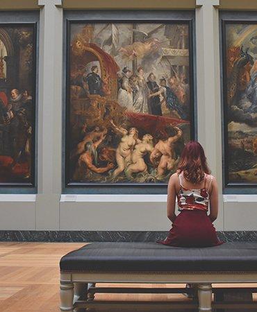 Bartolini gallery, Marin Center