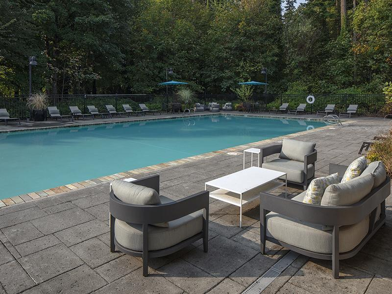 Pool Side Lounge | Jory Trail at the Grove