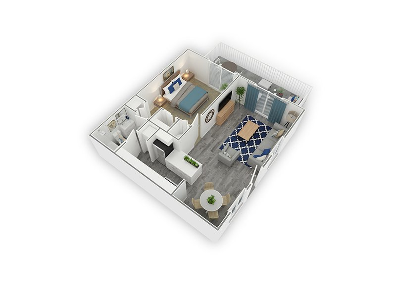 Floor Plans at The Charleston Apartments