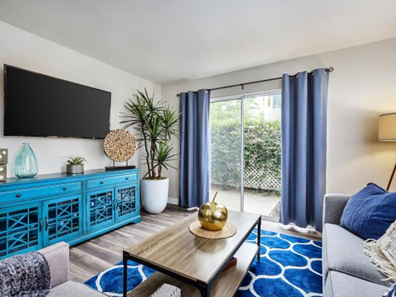Front Room | The Charleston Apartments