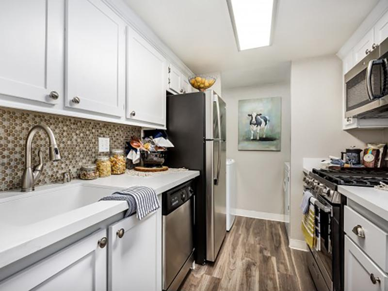Kitchen | The Charleston Apartments