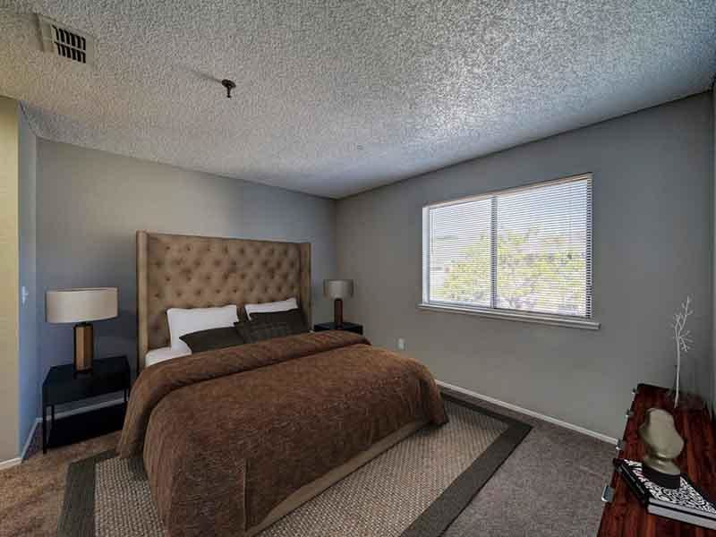 Bedroom | Parkside Commons Apartments