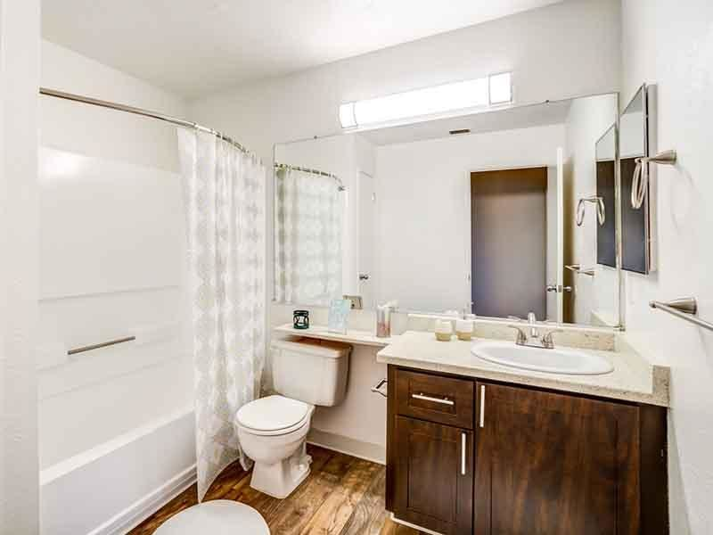 Bathroom | Parkside Commons Apts in San Leandro, CA