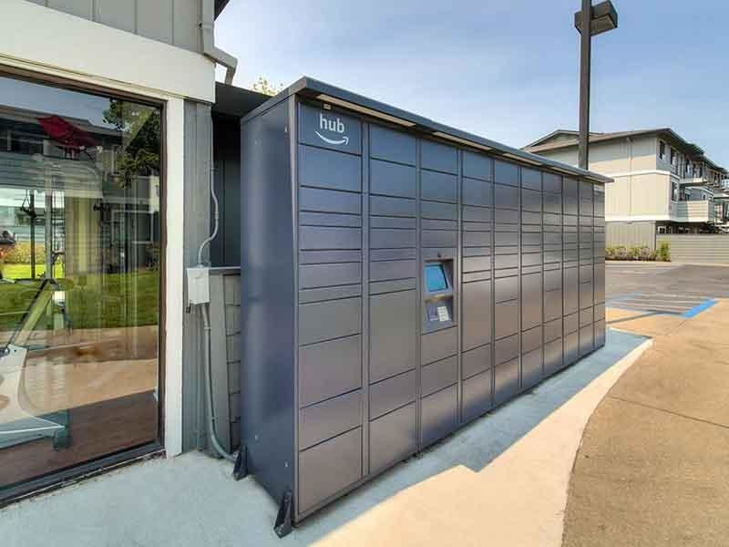 Hub Lockers | Parkside Commons Apartments in San Leandro, CA