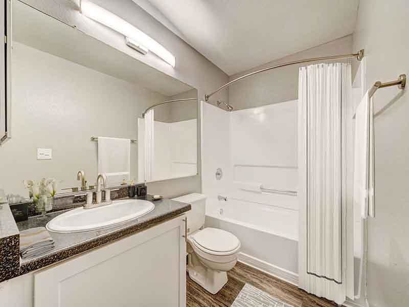 Bathroom | Parkside Commons Apartments