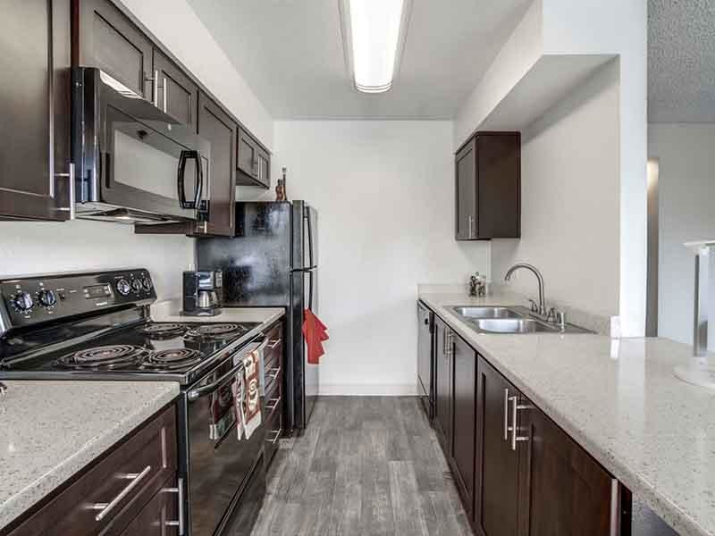Kitchen | Parkside Commons Apartments in San Leandro, CA