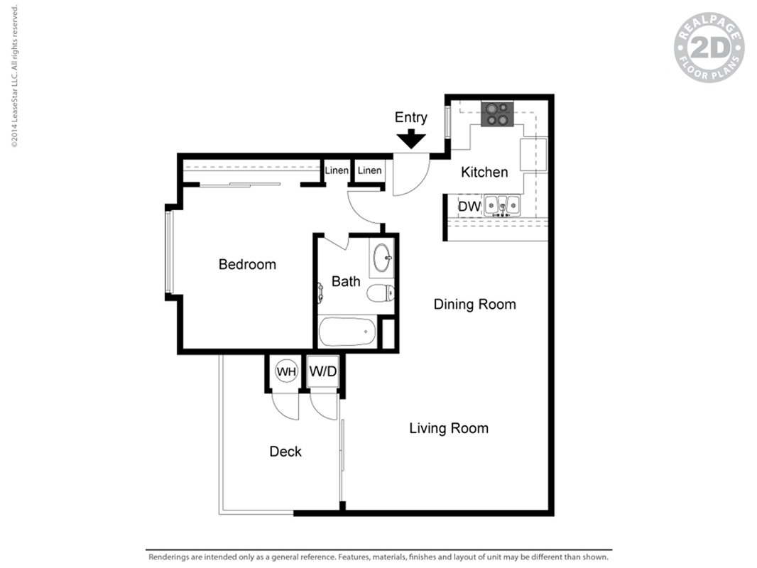 Floor Plans at Parc Claremont Apartments