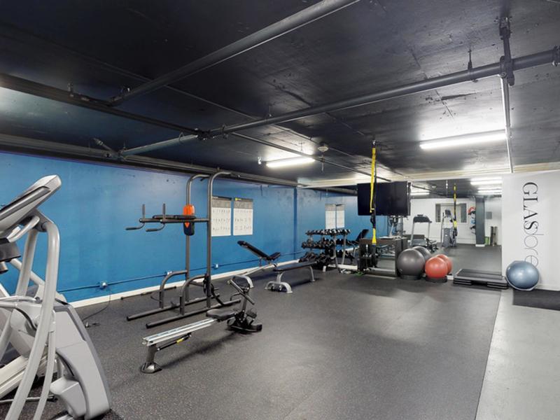 Fitness Room | Glasdore Lofts