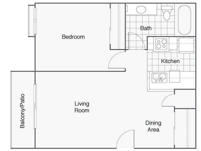 Floor Plans at Monterra Ridge Apartments