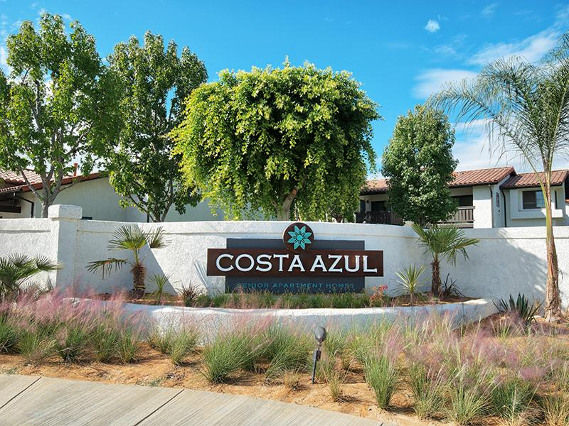 Welcome Sign | Costa Azul Senior