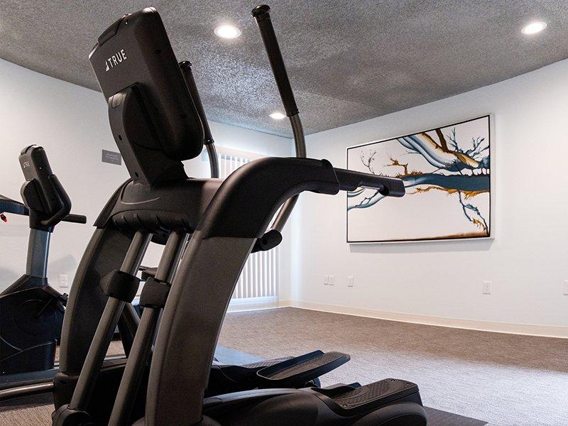 Fitness Center   Parkside Villa Apartments in Fairfield, CA