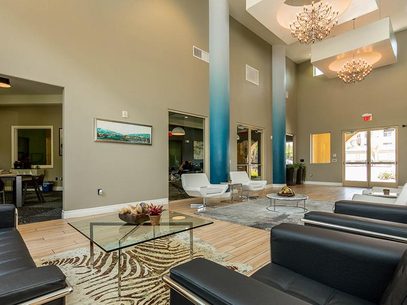 Clubhouse Lobby | Cornerstone Park Apartments in Henderson NV